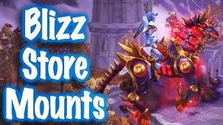 Jessiehealz - Blizzard Store Mounts Display (World of Warcraft)