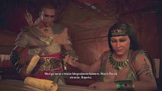 ISIDORA NAS ZDRADZIŁA! Assassin's Creed Origins: The Curse of the Pharaohs DLC #6 | Vertez
