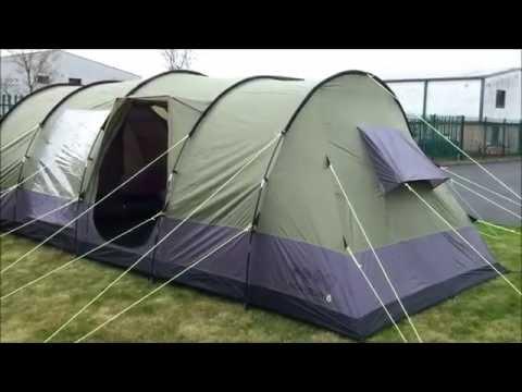 & Gelert Horizon 8 Supreme Tent - YouTube