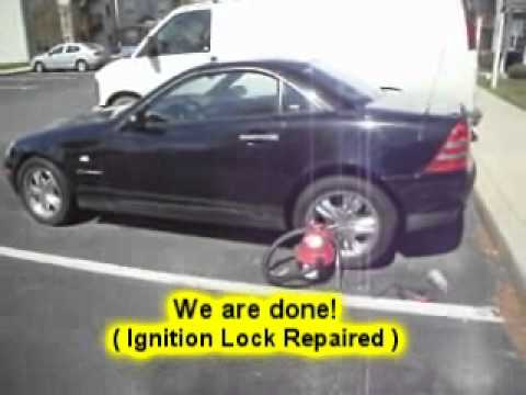 Atlanta ga 1998 mercedes benz slk230 ignition lock for Mercedes benz ignition key troubleshooting