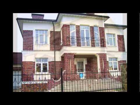 комбинированных домов фасадов фото