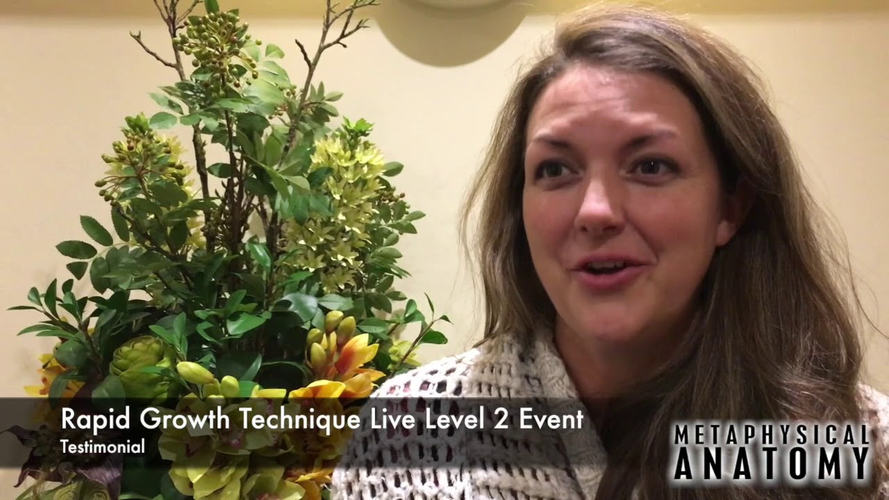 Rapid Growth Technique Testimonial Sarah