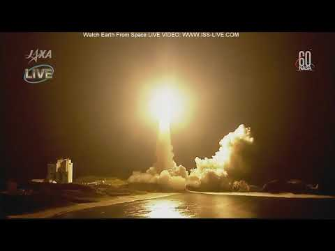 Launch of HTV-7 : Resupply mission to the ISS