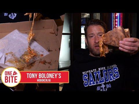 Barstool Pizza Review - Tony Boloney's (Hoboken,NJ)