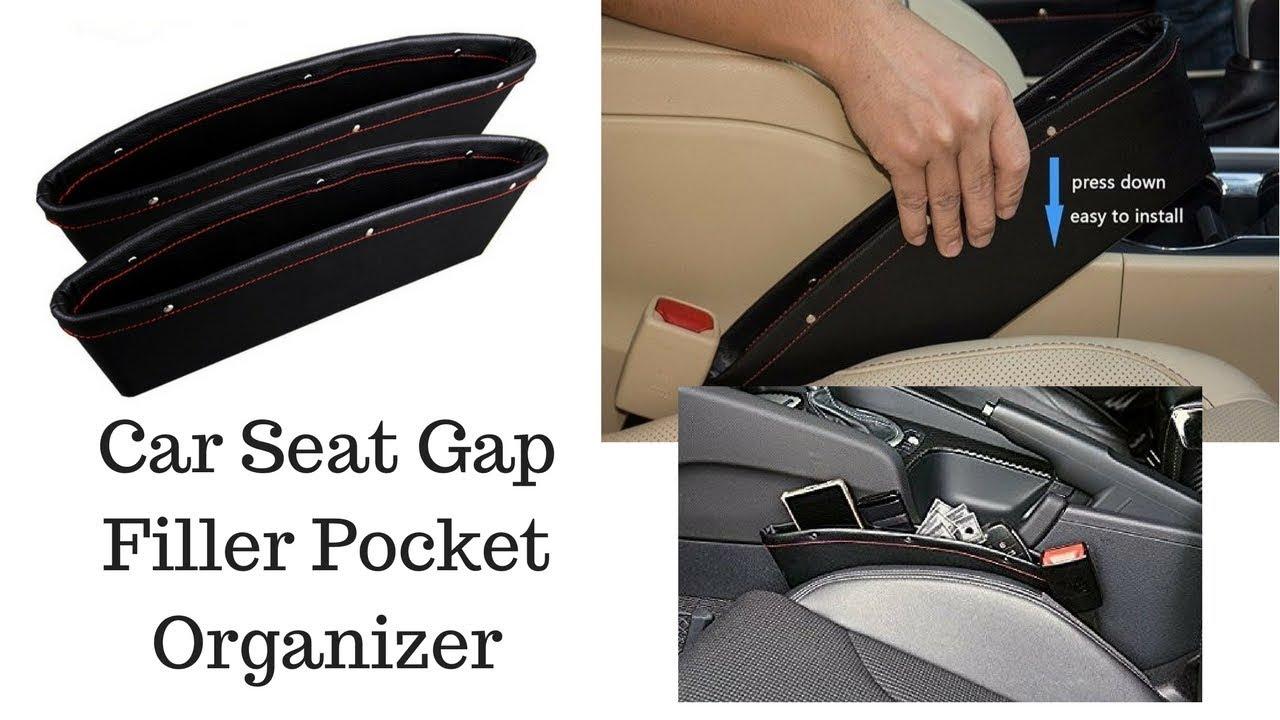 Big Ant Car Seat Gap Filler Pocket Organizer Unboxing Review