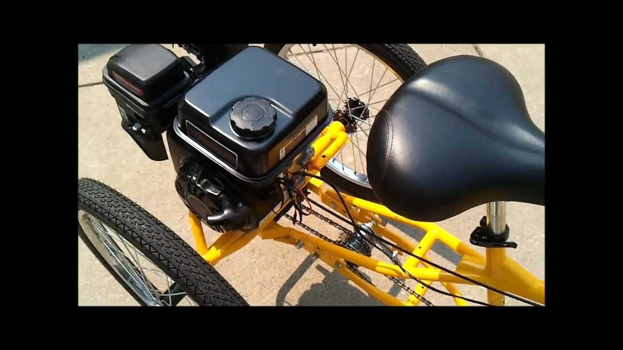 Three Wheel Bike With 7 Hp Engine Belize Tri Rider Doovi