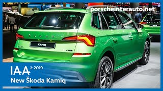 Škoda Kamiq, Škoda Kamiq Monte Carlo - IAA Frankfurt 2019 | Porsche Inter Auto