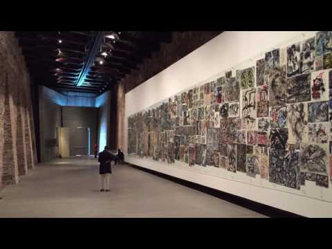 Emilio Vedova disegni - Fondazione Vedova, Venezia 2016