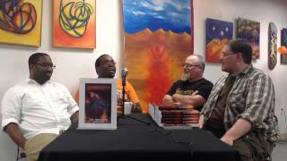 Not Black Authors, Sci Fi Authors That Happen To Be Black| Armageddon Lecture Interview