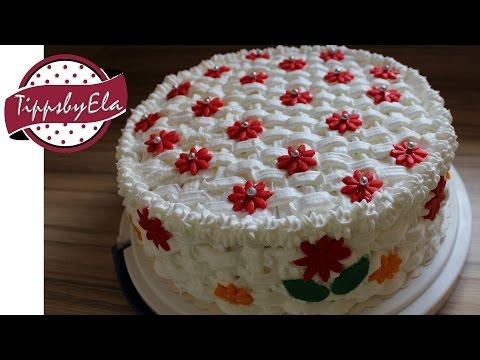 Оформление тортов фото видео