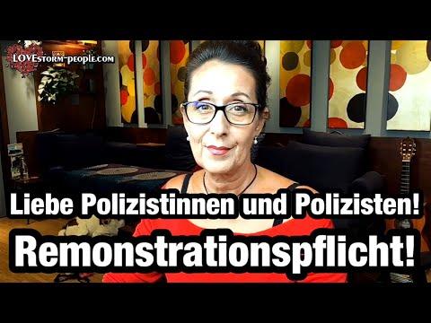 #REMONSTRATIONSPFLICHT ! Liebe Polizistinnen und Polizisten! Bitte kommen Sie Ihrer Pflicht nach!