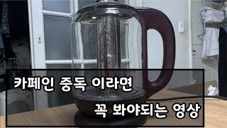 카페인 중독자라면 꼭 봐야할 영상 - 티포트와 티 효능…