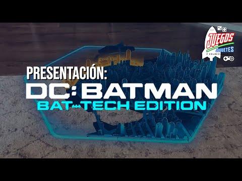 Batman: Bat-Tech, juego en REALIDAD AUMENTADA ► Juegos Juguetes y Coleccionables