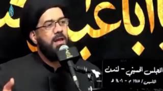 امراة جاءت للسيد محمد الصافي قالت له زوجي دائما مكنك و ما يحجي معي و مع الاطفال