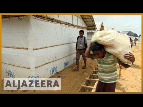 🇧🇩 Bangladesh: Rohingya refugee camps face landslides as monsoon season hits | Al Jazeera English