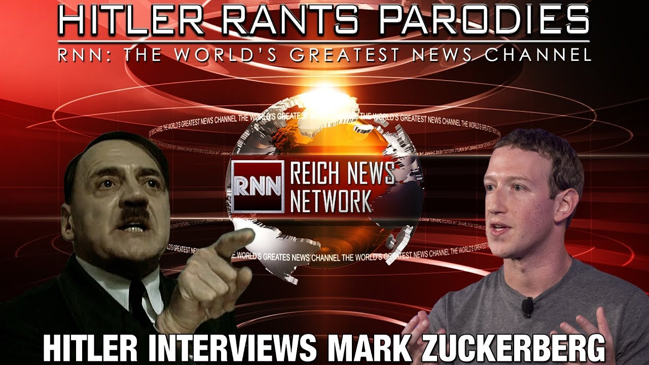 Hitler interviews Mark Zuckerberg