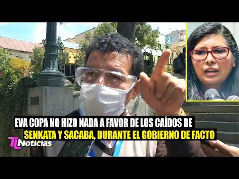 Bolivia: Exdiputado Víctor Borda asegura Eva Copa No hiso nada por los caídos en Senkata y Sacaba