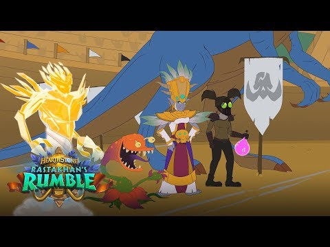 Rastakhan's Rumble: Ticket to Greatness Part 4 | Hearthstone