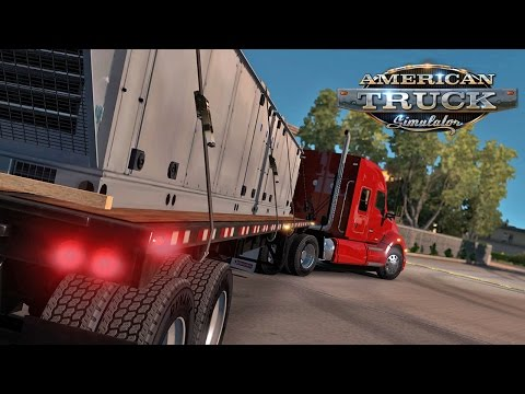 American Truck Simulator #2 (Demo) | WORST PARK JOB EVER!