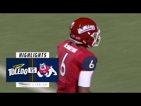 Toledo vs. Fresno State Football Highlights (2018)