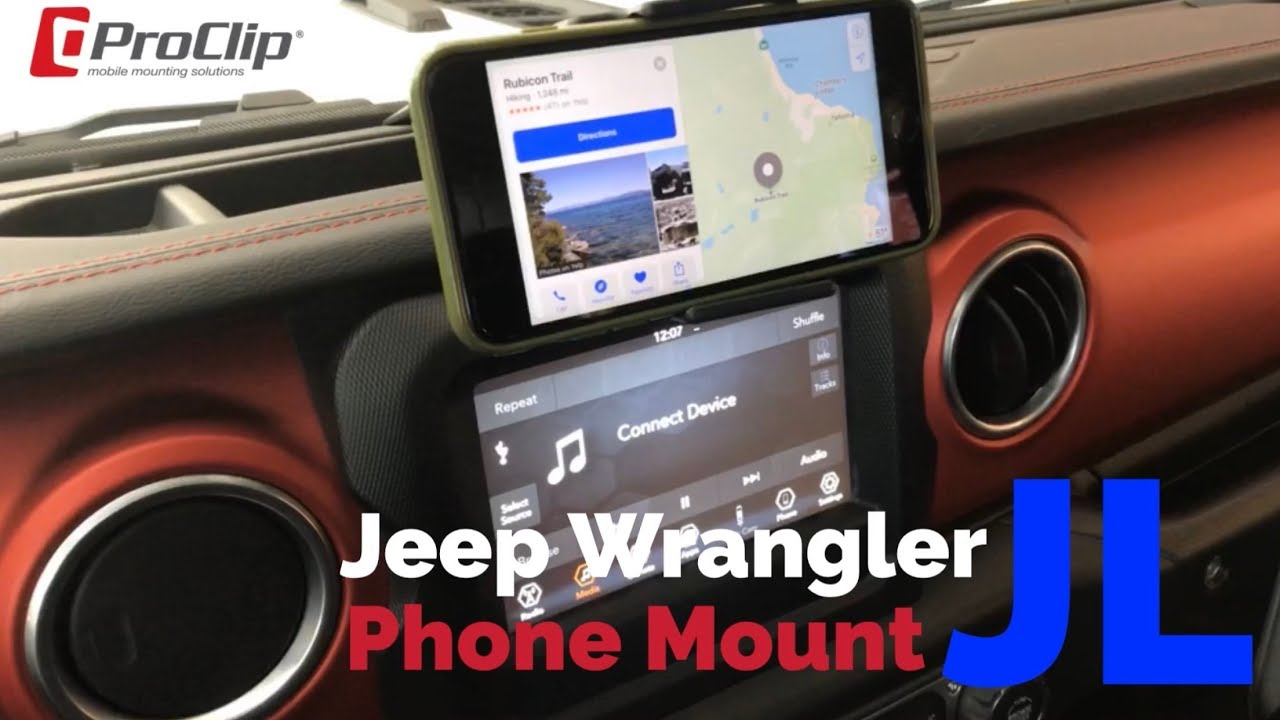 Best Phone Mount for Jeep Wrangler JL