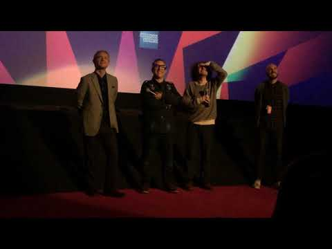 Martin Freeman, Andy Nyman and Jeremy Dustin at Ghost Stories Q&A 2.