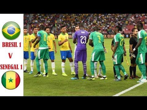 Résumé Brésil🇧🇷 vs 🇸🇳Sénégal 1-1 | Match amical | 10 octobre 2019