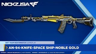 AN-94-Knife-Space Ship-Noble Gold | CROSSFIRE China 2.0 EXP