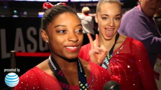 Simone Biles - Interview - 2015 World Championships - Team Final
