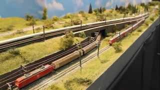 Spur N Modellbahn - N Scale Layout - N-spoor Modelbaan -- MBF Rödental