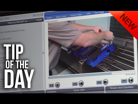 Display Pictures and Videos on Your Haas Control Using M130 – Haas Automation Tip of the Day