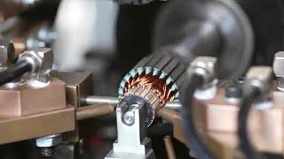 Как делают якоря для электродвигателей