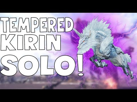Monster Hunter World: HOW TO DEFEAT TEMPERED KIRIN SOLO! - FULL IN DEPTH GUIDE!