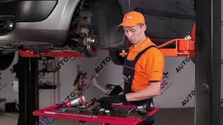 How to change Brake pad set disc brake SCÉNIC II (JM0/1_) - step-by-step video manual