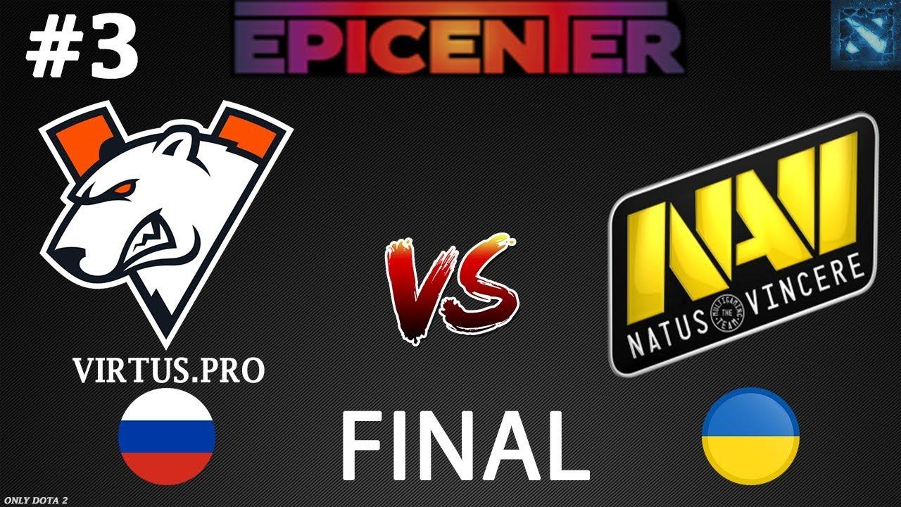 Kết quả hình ảnh cho virtus.pro vs navi bo5 epicenter 2019