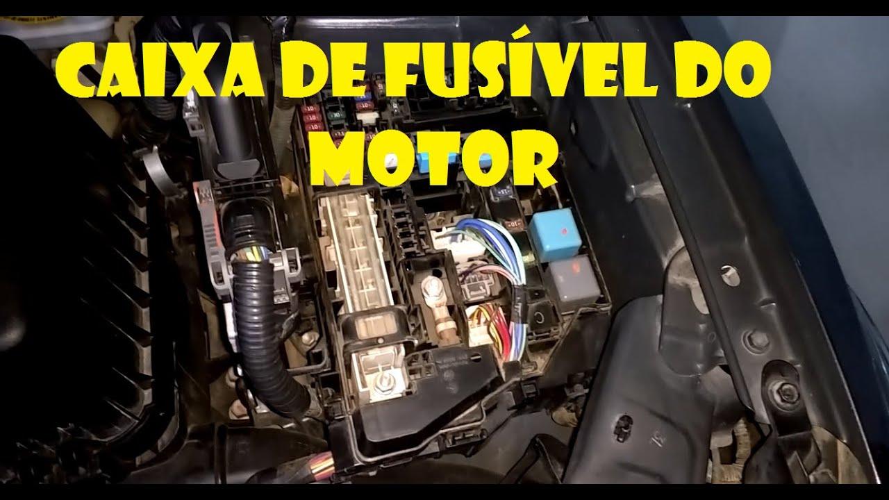 2006 Grand Vitara Fuse Box Tutorial Como Abrir Caixa De Fusivel Do Motor Toyota