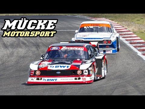 Mucke Motorsport @ Oldtimer GP 2018 - Capri Zakspeed, RS3100, 155 DTM, 200 imsa, ..