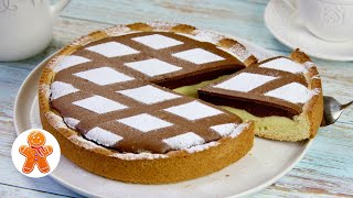 Двухцветный Пирог Торт Красивый и Очень Вкусный
