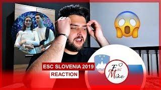 Eurovision Slovenia 2019 - REACTION [Zala Kralj &amp Gasper Santl - Sebi]