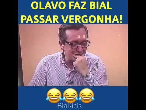 Olavo faz Bial passar vergonha