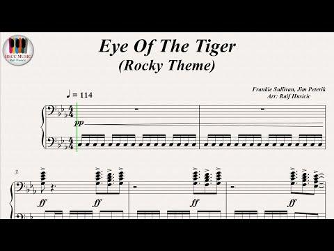 Eye Of The Tiger (Rocky Theme) - Survivor, Piano