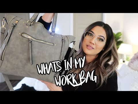 WHATS IN MY WORK BAG 2020