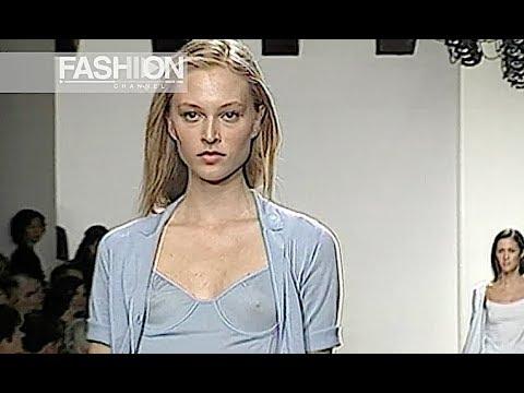 CALVIN KLEIN Spring Summer 2000 New York - Fashion Channel