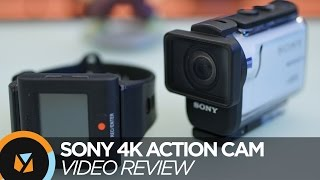 Sony 4K FDR-X3000R Action Cam Review