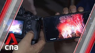 First NDP fireworks display at Singapore River attracts shutterbugs