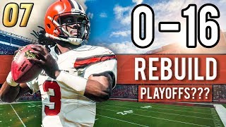 BROWNS ATTEMPT TO END PLAYOFF DROUGHT! (2019 Season) - Madden 18 Browns 0-16 Rebuild | Ep.7
