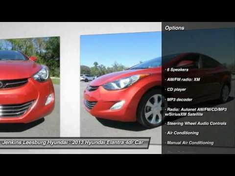 2013 Hyundai Elantra Leesburg Florida L19923a Youtube