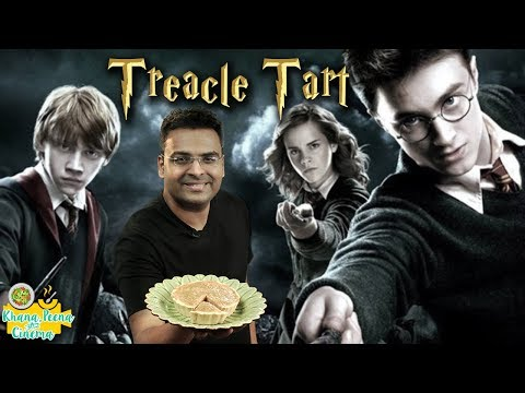 Treacle Tart Recipe - Harry Potter's Special Treacle Tart Recipe - Khana Peena Aur Cinema - Varun