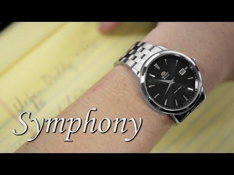 Orient Watch FER27009B0 ER27009B Symphony Automatic Mechanical Men's Watch
