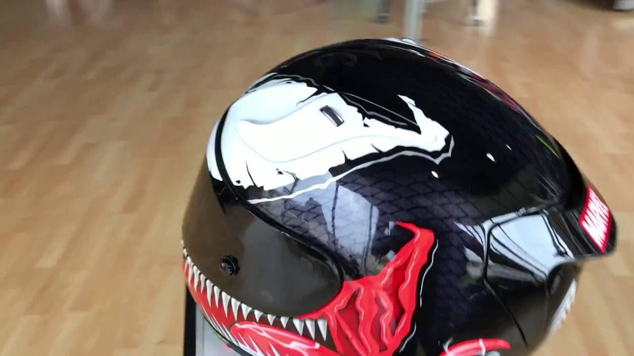 rpha 11 venom helmet by hjc youtube. Black Bedroom Furniture Sets. Home Design Ideas